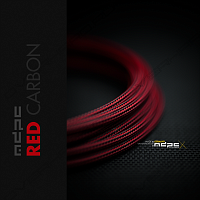 Оплетка MDPC-X Red-Carbon Cable Sleeving SMALL 1m